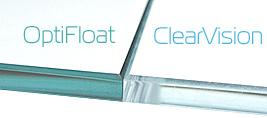 Сравнение стекла OptiFloat и ClearVision